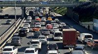 İstanbul'da 82 saatlik kısıtlama öncesi trafik yoğunluğu rekor seviyede: Yüzde 76