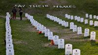 Mineapolis kentinde polis tarafından öldürülenler için anıt mezar kuruldu