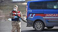 Ardahan'da karantinaya alınan mahalleye giriş ve çıkışlar kapatıldı