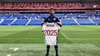 Lyon'da forma giyen ilk Türk oyuncu Cenk Özkacar