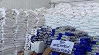 Konya'da polis ekipleri tarafından yapılan operasyonda 34 ton 185 kilo sahte üretim toz deterjan ele geçirildi