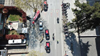 İstanbul Emniyet Müdürlüğü'nden 23 Nisan korteji