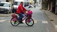 'Bedava mezar kazacağım' dedi arabasını sattı 21 bin TL'lik çiçek dağıttı: Yine de seçimi kaybetti