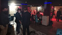 Ankara'da korona eğlencesi: Aralarında temaslılar da var