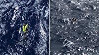 Akdeniz'de batan bota ilk müdahaleyi Türk mürettebat yaptı