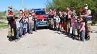 Mehmetçik'ten köy çocuklarına 23 Nisan sürprizi: Mutlulukları görülmeye değerdi