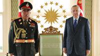 Cumhurbaşkanı Erdoğan Afganistan eski Cumhurbaşkanı Yardımcısı Dostum'u kabul etti