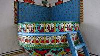 Ahşap süslemeli nadide bir eser: Güneyce Merkez Camii