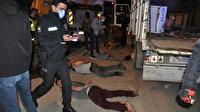 Hurdacı akrabalar arasında bıçaklı-sopalı kavga: 4 yaralı 13 gözaltı