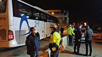 Biletsiz yolcu taşıyan otobüsteki çift riskli grupta çıktı: Cenazeye gidiyorlarmış!