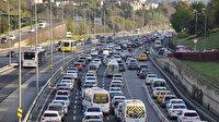 82 saatlik kısıtlama sonrası 15 Temmuz Şehitler Köprüsü'nde trafik yoğunluğu