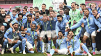 Manchester City tarihe geçti: Kupa koleksiyoncusu