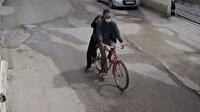 Osmaniye'de bisiklet hırsızları kamerada