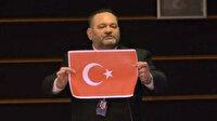 Türk bayrağını yırtan hadsiz Yunan vekil tutuklandı