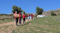 Kızılay'ın koca yürekli minikleri: İhtiyaç sahiplerine yardım kolisi dağıttılar