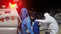 Yunan'ın ölüme terk ettiği 61 göçmeni Türk Sahil Güvenlik'i kurtardı