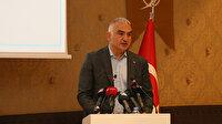 Kültür ve Turizm Bakanı Ersoy: Turizm personelinin tamamı mayıs sonuna kadar aşılanacak