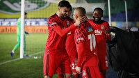 Beşiktaş kritik Rize deplasmanında 3 puanı 3 golle aldı