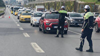 İstanbul polisinden trafikte sıkı denetim: Araçlar tek tek durduruldu ceza yağdı