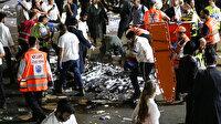 İsrail'de bayram kutlamaları sırasında sahne çöktü: 38 ölü