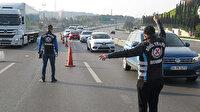 Tam kapanmanın ilk günüde polis göz açtırmıyor: Araçlar tek tek durduruldu