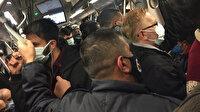 Bu sabah İstanbul: Kısıtlamanın ilk gününde toplu ulaşımda yoğunluk dünü aratmadı