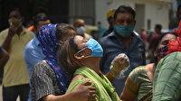 Hindistan'da salgında rekor üstüne rekor: Vaka sayısı 386 bin 452