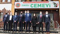 Çevre ve Şehircilik Bakanı Kurum Tunceli'de cemevini ziyaret etti: Birlik ve beraberliğimizi bozmalarına müsaade etmeyelim
