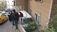 Maltepe'de facia ucuz atlatıldı: Freni tutmayan minibüs apartman bahçesine uçtu