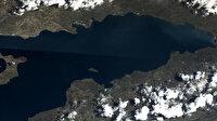 MSB 'Göktürk'ün gözünden Van Gölü'nü paylaştı