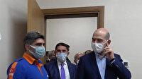 İçişleri Bakanı Süleyman Soylu, Güvenlik Toplantısı için geldiği Ağrı'da toplantı sonrası ziyaretlerde bulundu