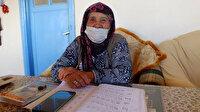 90 yaşında öğrenmenin yaşı yok dedirtti: İsmi Nine iki ayda okuma yazma öğrendi