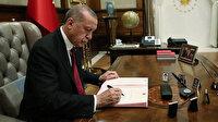 Cumhurbaşkanı Erdoğan iki yeni bakanlığa bakan yardımcıları atadı