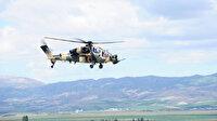 Pençe-Yıldırım operasyonunda 2 PKK'lı terörist Atak helikopteriyle etkisiz hale getirildi