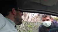 Değnekçi para pazarlığı yaptığı sürücünün polis olduğunu öğrenince şoke oldu