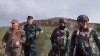 Ermeni askerlerden Karabağ sınırında tahrik