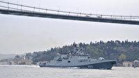 Rus Donanmasına 'Admiral Makarov' gemisi Boğaz'dan geçti