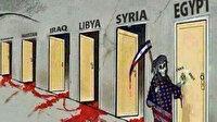 Çin Büyükelçiliği'nden 'ABD Müslüman ülkelere ölüm götürüyor' tasviri