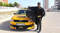 Bağırıp kaçanlar da var görüp sarılan da: Bu da Batman taksici