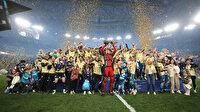 Rusya'da şampiyon Zenit oldu: Artem Dzyuba'nın kostümü gündeme oturdu