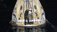 NASA ve SpaceX astronotları Dünya'ya geri döndü
