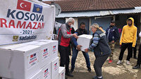 Sadakataşı'ndan Kosova'ya Ramazan yardımı