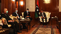 Bakan Akar Libya Başbakanı Dibeybe ile görüştü