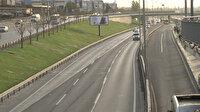 İstanbul trafiğinde tam kapanma etkisi: Yüzde 18'lere kadar geriledi