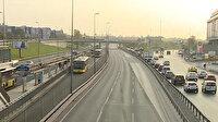"""İstanbul'da """"tam kapanma""""nın etkisiyle trafikte yoğunluk azaldı"""