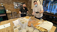 Hollanda'da Türkler ramazanda ihtiyaç sahiplerine her gün sıcak yemek dağıtıyor