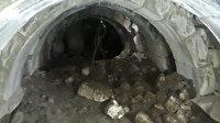 İzinsiz kaçak kazı yapıyorlardı: Baskında Roma dönemine ait zindan bulundu