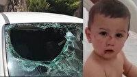 İki yaşındaki Selim'in mucize kurtuluşu: Altıncı kattan otomobilin ön koltuğuna düştü