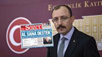 Bakan Muş'tan Sözcü gazetesine tepki: Dün yalanladık bugün manşet yapmışlar