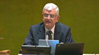 BM 75. Genel Kurul Başkanı Volkan Bozkır'dan Suriye'ye yardımların devam etmesi çağrısı